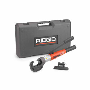 Ridgid 48373 Re 12 m Manual Hydraulic Crimp Tool Kit