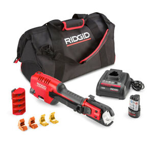Ridgid 54253 Pex one 12v Press Tool With 1 2 1 Astm Jaws