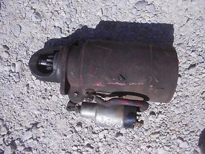 Farmall Ih Ihc 560 Diesel Tractor 12v Non Working Starter Assembly