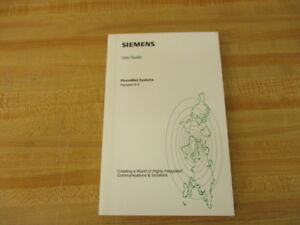 Siemens G341 1728 01 Phone Mail System Guide 6 4 G341172801