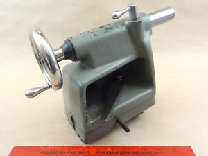 Excellent Orig Atlas 12 Craftsman Commercial Lathe Complete Tailstock Tail Stock