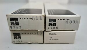 4lot ysi Series 400 500 700 Temperature Medical Probes Cables 511 409a 729 Nos