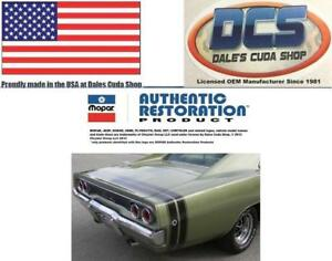 1968 Dodge Charger Tape Stripe Kit Select Black White Red Gold Silver Usa
