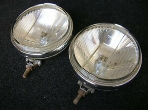 Bosch Knick Halogen Driving Fog Lamps Lights Mercedes Mb 200 300 500 600 S Se Sl
