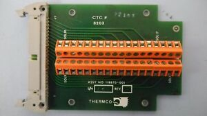 Thermco 118870 001 Pcb Assembly Working When Removed