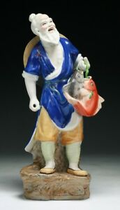 A Chinese Famille Rose Porcelain Figure Group