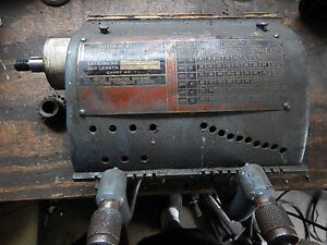 South Bend Heavy 10 Metal Lathe Quick Change Gearbox Assembly Machinist Tool