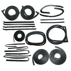 Precision Parts New Weatherstrip Kit Rear Upper For Chevy Chevrolet C10 Truck