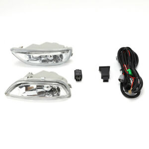 Set Of Fog Lights With H3 Pre installed Bulbs For Toyota Corolla 2001 2002