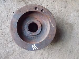 Farmall M Tractor Orgnl Ih M Engine Motor Front Main Crank Shaft Pulley
