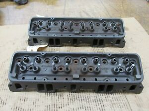 1956 Corvette Small Block Chevy Sbc 265 V8 Heads 3725306 306 J 25 5