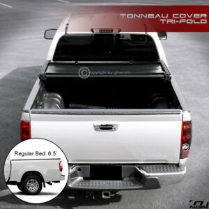 For 2004 2006 Tundra Double Crew Cab 6 2 Short Bed Tri Fold Soft Tonneau Cover