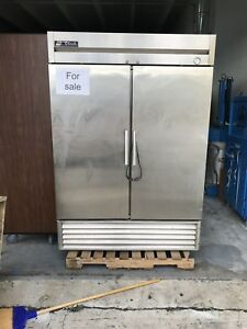 True Freezer T 49f Two door Stainless Steel Reach In Freezer