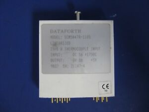 Dataforth Scm5b47 Type R Linearized Thermocouple Input Module Used