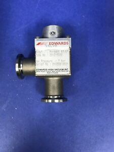 Edwards Pv16mks St st Manual Isolation Vacuum Valve Used