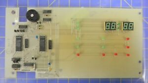 Thermco 117990 0001 Rev H Display Panel Pcb Assembly Working When Removed