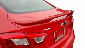 Painted Factory Style Spoiler For The 2016 2019 Chevrolet Cruze