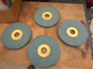 4 New Old Stock Norton 7 Surface Tool Grinding Grinder Wheels