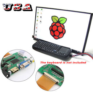 10 1 10 Tft Lcd Display Control Hdmi vga video Driver Board For Raspberry Pi S