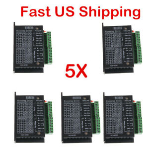 5x Tb6600 Cnc Hybrid Stepper Motor Driver Controller 4a Us Stock