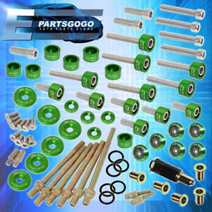 Cup Header Cam Cap Washers m6 Drivet Fender valve Cover Washer K series Green