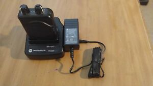 Nice Used Motorola Minitor Model V 5 Pager W Charger Battery Fd 46 1200 1