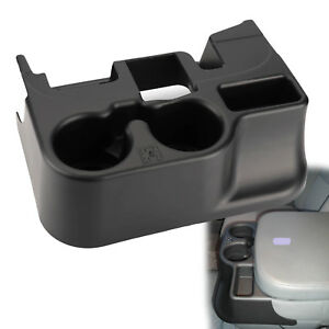 Center Console Cup Holder For 2003 12 Dodge Ram Add on 1500 2500 3500 Black