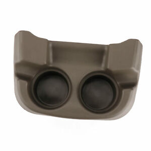 Floor Console Mounted Dual Cup Holder Insert For Ford Trucks