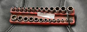 Snap on 26pc Short Long Socket Set