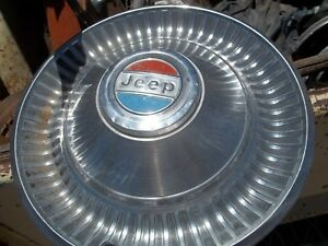 1950 60 s Jeep Jeepster Dog Dish Hubcap