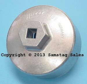 Hazet Germany 2169 Oil Filter Wrench 74 4mm 14 Point Mercedes
