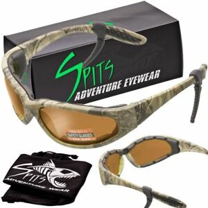 Hercules Safety Glasses Forest Camo Frame Transitions Clear Smoke Yellow And