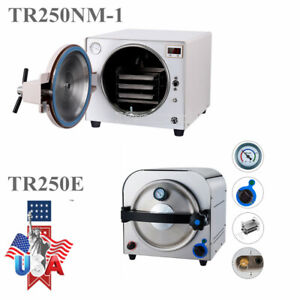 Dental Autoclave Steam Sterilizer Medical Sterilization Lab Equipment 14l