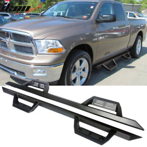 Fits 16 18 Dodge Ram 1500 16 18 2500 3500 Quad Cab Ikon V2 Style Running Boards