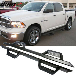 Fits 16 18 Dodge Ram 1500 16 18 2500 3500 Crew Cab Ikon V2 Style Running Boards