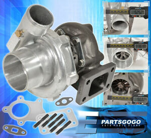 Universal T3 T4 Turbo Charger T04e T3 2 5 5 Bolt Flange Exhaust 57ar Hybrid