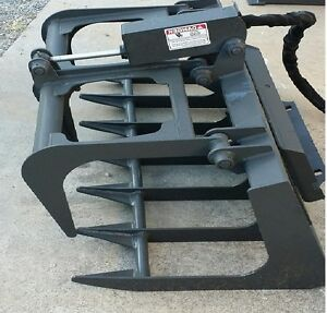 New 44 Root Grapple Mini Walk Behind Skid Steer Loader Toro Dingo thomas Ramrod