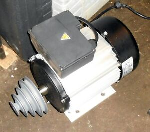1 1 2 Hp I Phase Motor From Shop Fox 20 Drill Press With Pulley