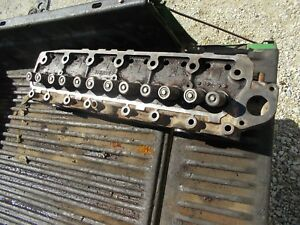 Farmall 560 Tractor Ih Good Engine Motor Gas 6 Cylinder Head Valves 367188r1