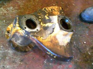 International Cub 154 Low Boy Tractor Ih Main Rearend Left Drop Axle Housing
