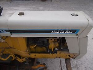 International Cub 154 Lo Boy Tractor Ih Main Engine Motor Hood Cover Panel