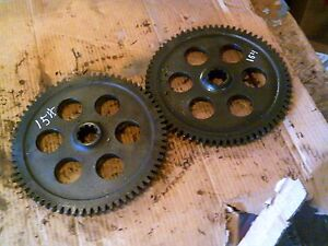 International Cub 154 Low Boy Tractor Ih Main Transmission Drive Bowl Gear Gears