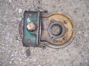 Oliver 88 Rowcrop Tractor Pto Power Take Off Shaft Rearend Housing Holder