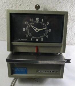 Cincinnati Time Clock Job Card Recorder Model 10231 Parts
