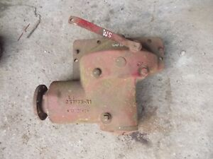 Farmall Sm Super M Tractor Ih Ihc Belt Pulley Drive Assembly Rare Hard To Find