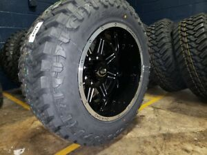 20x12 51 Vision Cannibal Wheels 35 Mt Tires Package 8x170 Ford F250 F350 Super