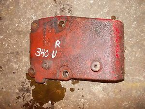 International 340 Utility Tractor Ih Ihc Hydraulic Valve Block Right Side Mount