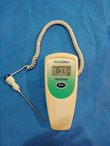 Welch Allyn Suretemp 679 Thermometer With 02678 000 Oral Probe