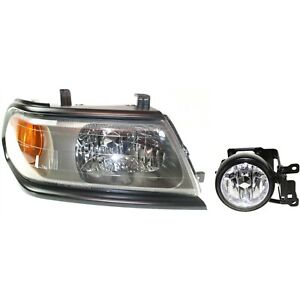 Headlight Kit For 2000 2004 Mitsubishi Montero Sport Right 2pc