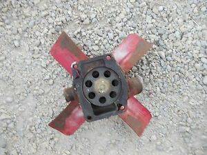 Farmall Sm Super M Mta Smta Tractor Ih Ihc Engine Motor Water Pump Assembly